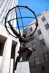 Atlas at the Rockefeller Centre