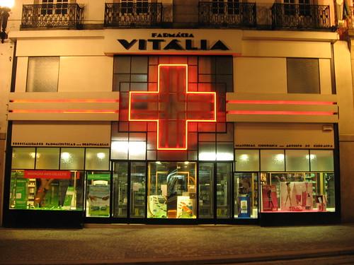 Pharmacy in Porto.