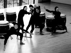 Friends intervene (EAWB) Tags: japanese drumming swarthmorecollege tamigawauniversity danceandtaikoconcert