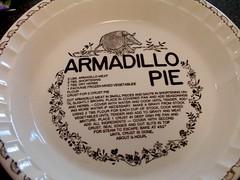 Armadillo Pie Plate