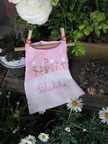 Cadeau naissance Blanche