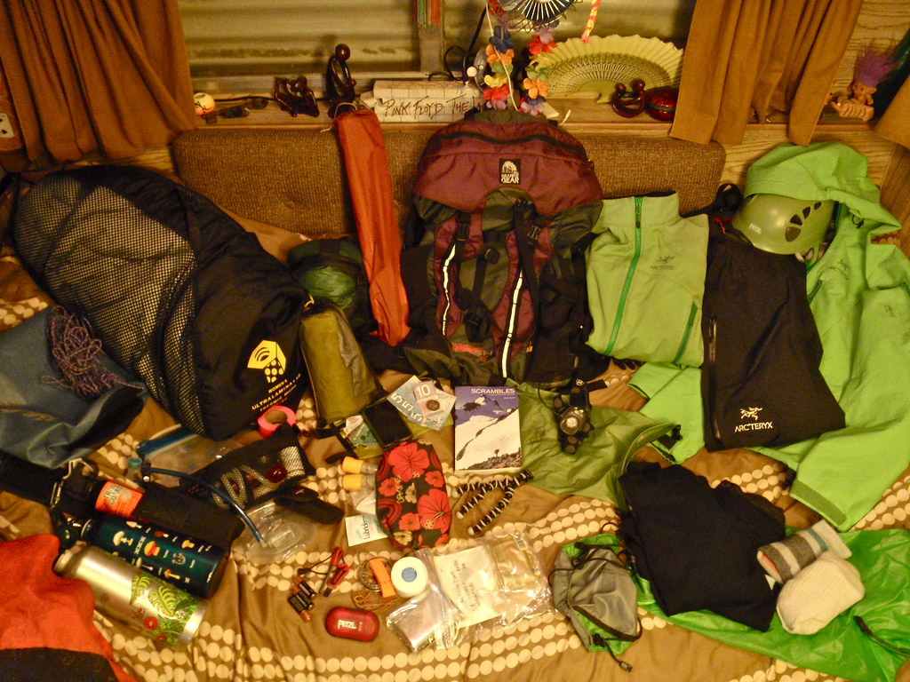 What's In Your Bag? - Eaton Peak Edition