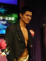 Aaron Kwok(マダムタッソー蝋人形館 in HK)