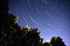Star Paths (Russ Beinder) Tags: topv111 night dark stars topv555 topv333 topv1111 topc50 topv999 timeexposure topv777 mb startrails lakemanitoba nikonfa blueribbonwinner utatafeature challengeyouwinner anawesomeshot benykspoint