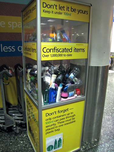 Security Reminders at London Stansted