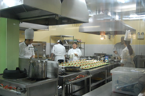The kitchen at Global Academy