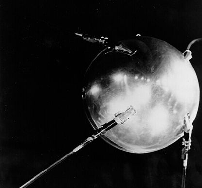 Sputnik photo from 1957