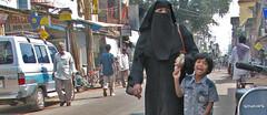 IMG 0285 e (Eric.Parker) Tags: street boy india girl children women child hijab 2006 hyderabad niqab burqa charminar 50millionmissing