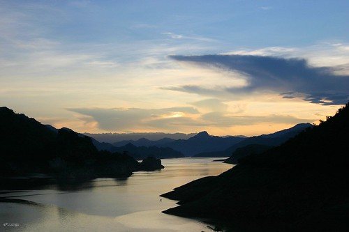Sunset at ThungNai, Hoa Binh (3)