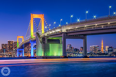 Twilight Cruise, Tokyo Rainbow Bridge (45tmr) Tags: nightscape night tokyo japan 夜景 東京