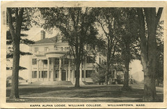 Kappa Alpha 1923 (ledges) Tags: postcard williamscollege williamstownmassachusetts