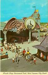 Haunted Castle dark ride at Miracle Strip Amusement Park, Panama City Beach, Florida. (stevesobczuk) Tags: house seaside florida haunted amusementpark panamacitybeach miraclestrip redneckriviera us98 frontbeachrd
