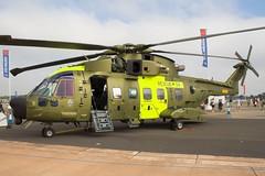 M-509 EH101 Merlin Fairford 2006 (benallsup) Tags: rescue tattoo denmark aviation military air 2006 airshow international merlin fairford riat eh101 iat allsup m509