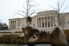 Sculpture at Nelson-Atkins (Menazort) Tags: birthday party sculpture building art beach sports museum happy weird rust iron flickr artist sad image thing picture craft philosophy it photograph emergence doom etc deviant concept subgenius brass happening morality menazort