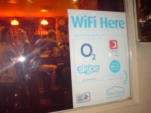 skypespotting in pubs