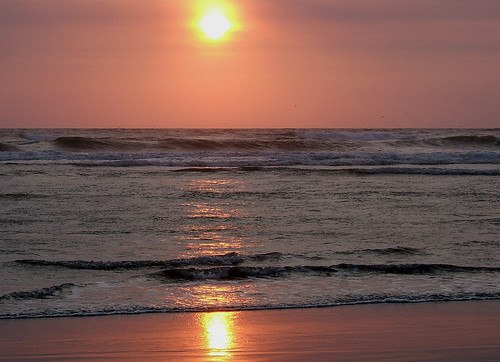 Day's End at Ocean Shores, WA
