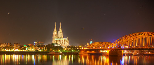 Cologne Dome at Night