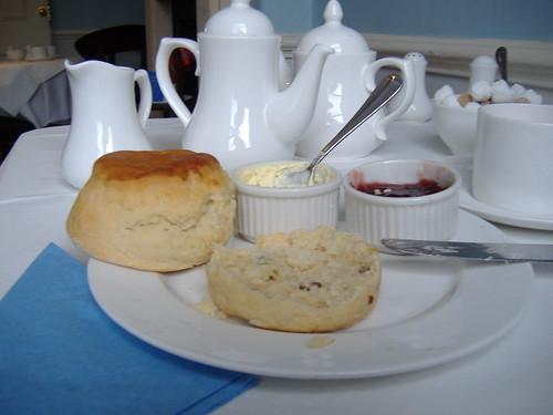 cream tea with jane