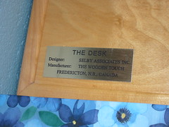 Desk plaque