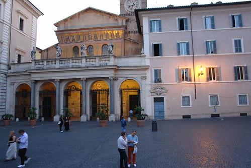 Santa Maria in Trastevere, Roma