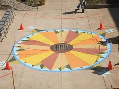New Compass Rose (meliroo) Tags: school cambridge garden education celebration k8 urbanschool kingamigos citysprouts