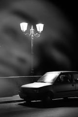 fantasma (pulcetta) Tags: light car ponte macchina fantasma luce lampione gost sfidephotoamatori