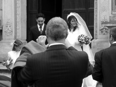 the wedding picture (^ mAyAkA ^) Tags: wedding blackandwhite bw groom bride photo couple foto bn duomo matrimonio lecce photograpgh
