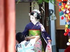 Gion Geisha #2 (Wormey) Tags: japan kyoto geisha   kimono gion 2007