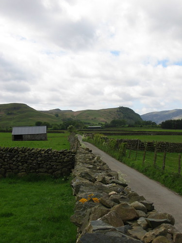 path away from Castlerigg