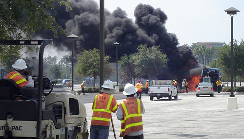 Fire at WDW's Downtown Disney West Side