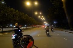 AND_7095 (GreatWaffle) Tags: vietnam vietnamese asia travel hochiminh city night scooter traffic car abundance crazy unsafe
