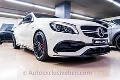 Mercedes-Benz Clase A 45 AMG  - 381 c.v  - Mod.2016 - Blanco Cirro - Piel Negra