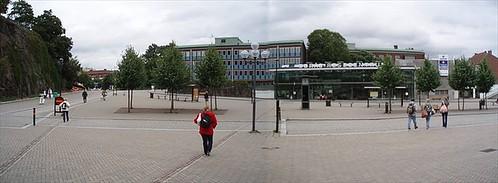 Borås resecentrum, bus station, 2008