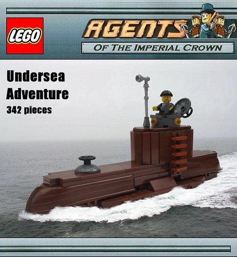 Steampunk Lego Submarine