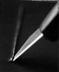 temperino e cartoncino copi.jpg (lequetio) Tags: stilllife polaroid largeformat black38white