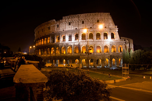 Coliseum at Night by Marcelo Musacchio