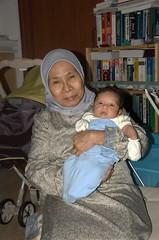 Aulia and grandma (mirzan) Tags: aulia
