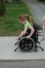 Trouble Going (Light Saver) Tags: photoshopped wheelchair anastasia denied lightsaver accessability spinabifida donotcopy troublegoing donotusewithoutwrittenpermissions allmyimagesarecopyrighted ignoranceofcopyrightlawsisnoexcusetobreakthem allimagesarelicensedthroughgettyimages contactmewithanyquestions