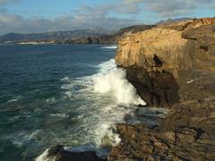 La Pared (*ea*) Tags: sea water spain fuerteventura wave atlantic lapared