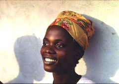 Young woman, Zleh Town, Liberia, 1968 (gbaku) Tags: africa girls woman west cute girl beautiful town women village head african femme headscarf villages westafrica afrika anthropologie liberia towns anthropology femmes africain ethnography ethnology africaine westafrican headcloth ethnologie afrikas