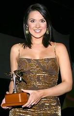 Silvia Corzo en los Premios Orquídea 2006