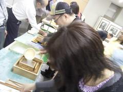 08 飛鳥山公園 05.紙づくりワークショップ