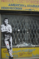 Jef Arosol - Chicago 2005 - Bruce Springsteen... (Jef Aerosol) Tags: street urban stencils chicago paris france art jeff graffiti stencil bruce spray jef aerosol springsteen urbain pochoir pochoirs bombage