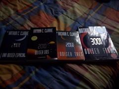 La coleccion completa (El Piraa) Tags: 2001 libros 2010 2061 3001
