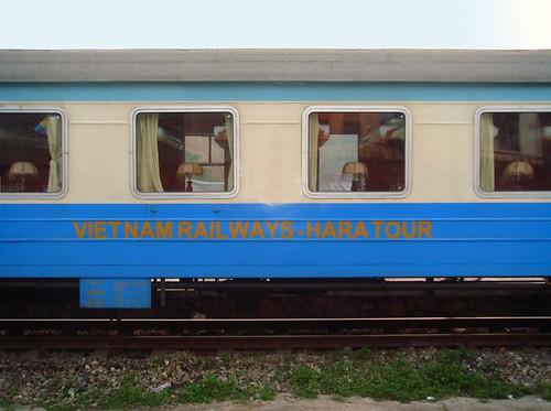 El tren nos llevo a LaoCai