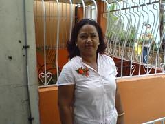 Alfredo Gonzles felicita a su madre