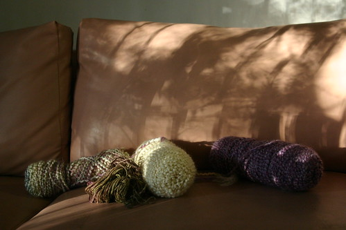 yarn, light, couch