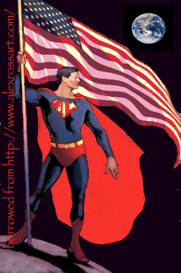 Al Gore as Superman