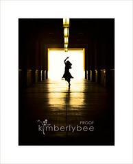 Tunnel Dancer (kimberly bee) Tags: silhouette ballerina tunnel dancer soe picswithframes