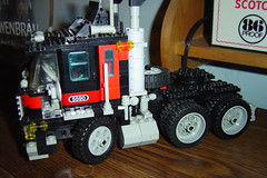 DSC04374 (Brads Jeep) Tags: truck lego semi legos coe cabover